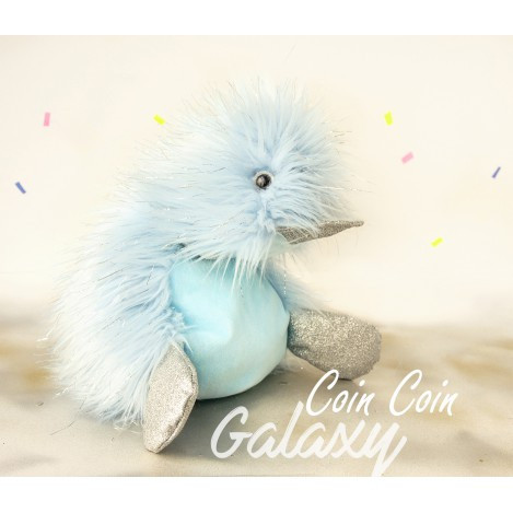 М'яка іграшка Coin Coin 22 см блакитна асорт (CC7030)