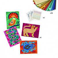 Набір для творчості мозаїка глибоко в джунглях Djeco (DJ09422), фото 3
