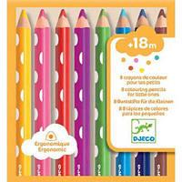DJECO Набор карандашей для малышей 8 шт.