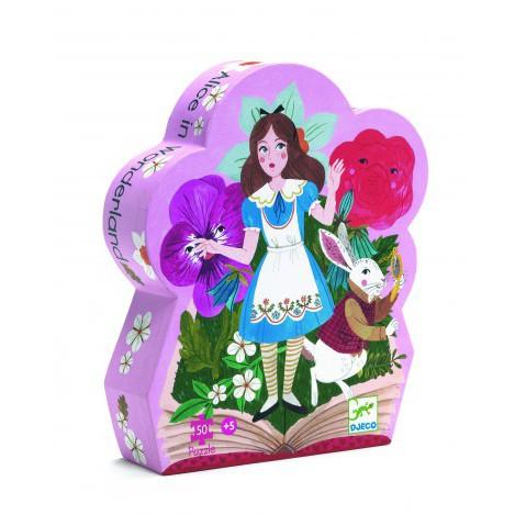 Пазл для дівчинки  Аліса в країні чудес Djeco (DJ07260)