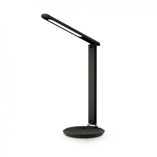 Настольная лампа Feron DE1728 9W 2700К-4000К-6500К 400lm Черная
