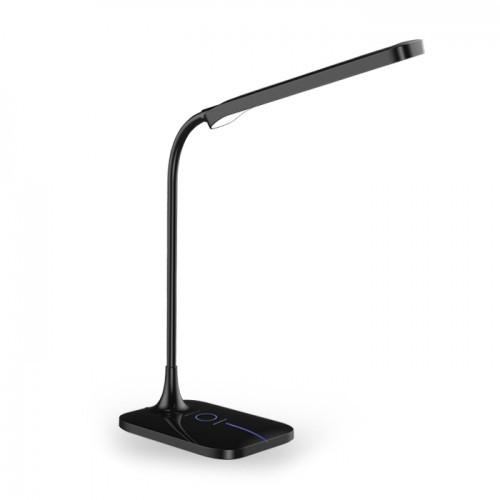 Настольная лампа Feron DE1732 6W 3000К-4000К-6000К 400lm Черная