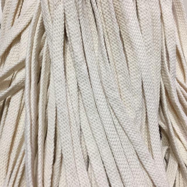 Шнур для одежды  х/б без наполнителя 08мм цв суровый (уп 100м) Ф