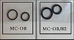 Набор уплотнительных колец для муфт без вентиля МС OR Mastercool, фото 2