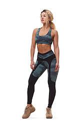 Спортивный комплект для фитнеса Aguilera Green Print