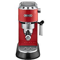 Ріжкова кавоварка еспресо Delonghi EC 685.R (уцінка), фото 5