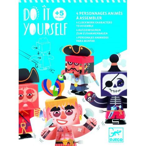 Фігурки заводні зроби сам пірати Djeco (DJ07931)