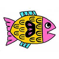Художній комплект для малювання забавні тварини Djeco (DJ09624), фото 3