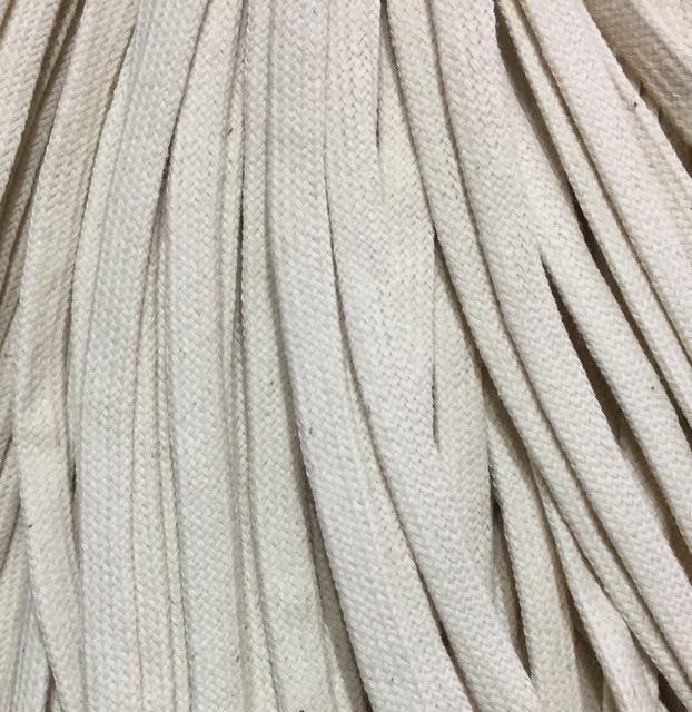 Шнур для одежды без наполнителя х/б 8мм цв суровый (уп 100м) Ф