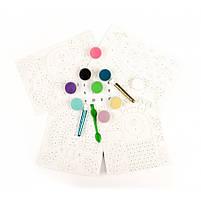 Художній комплект малювання кольоровим піском сліпучі птиці Djeco (DJ08663), фото 5