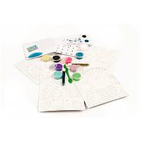 Художній комплект малювання кольоровим піском сліпучі птиці Djeco (DJ08663), фото 6