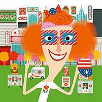 Художественный комплект с наклейками Каламбур Djeco (DJ08934), фото 4
