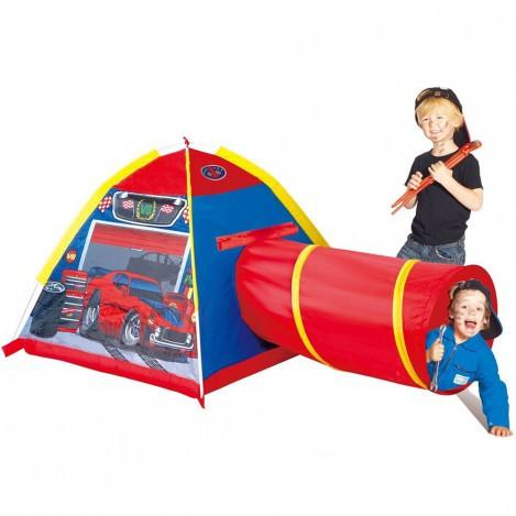 Палатка игровой гараж с тоннелем micasa (428-16)
