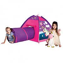 Палатка игровая единорог с туннелем micasa (402-18), фото 2