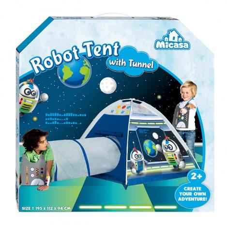 Палатка робот с тоннелем для мальчика Micasa (404-18)