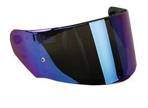 Визор Зеркальный для шлемов LS2 FF353 / FF320 Синее зеркало