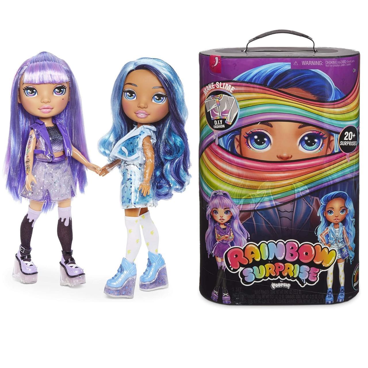 Набор с куклой Пупси Слайм Радужная или Розовая леди Poopsie Rainbow Surprise Dolls