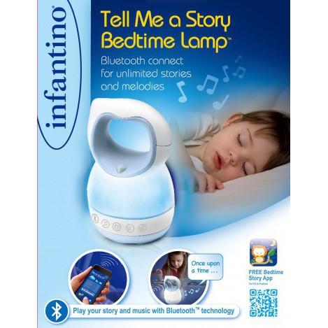 Светильник Расскажи мне историю, голубой Infantino (004854I)