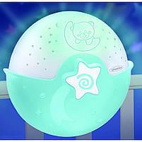 Світильник спокійні сни блакитний Infantino (004627I), фото 4