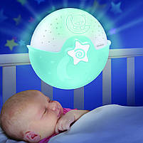 Світильник спокійні сни блакитний Infantino (004627I), фото 5