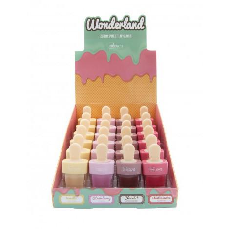 Бальзам для губ дитячий у вигляді морозива wonderland кавун (25529)