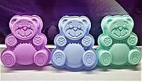 """Форма силиконовая """"Медведь Валера"""" маленький, фото 1"""