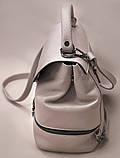 Сумка рюкзак кожаная женская от производителя модель СР10-6, фото 3