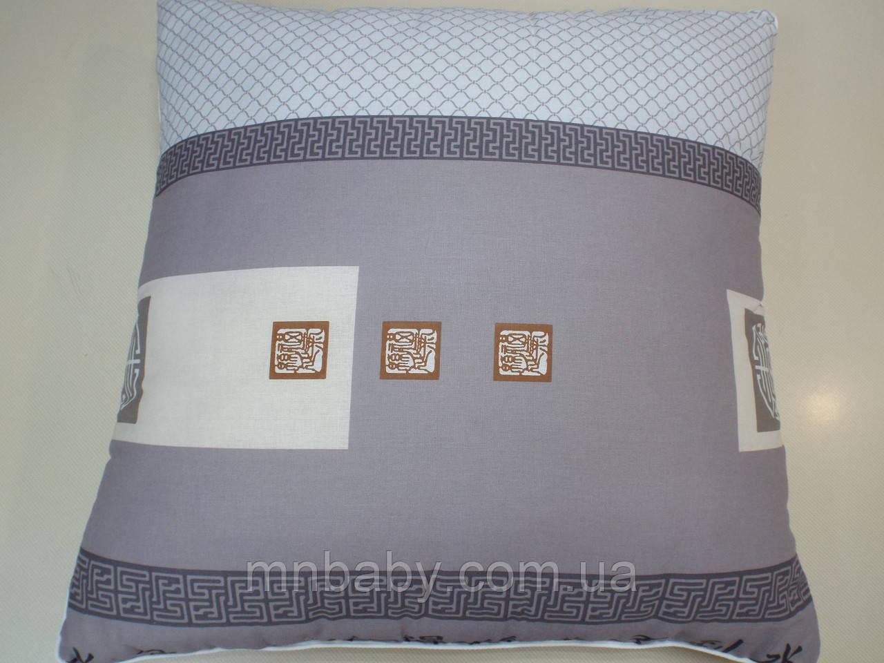 Подушка 70*70 см с силиконовым наполнителем