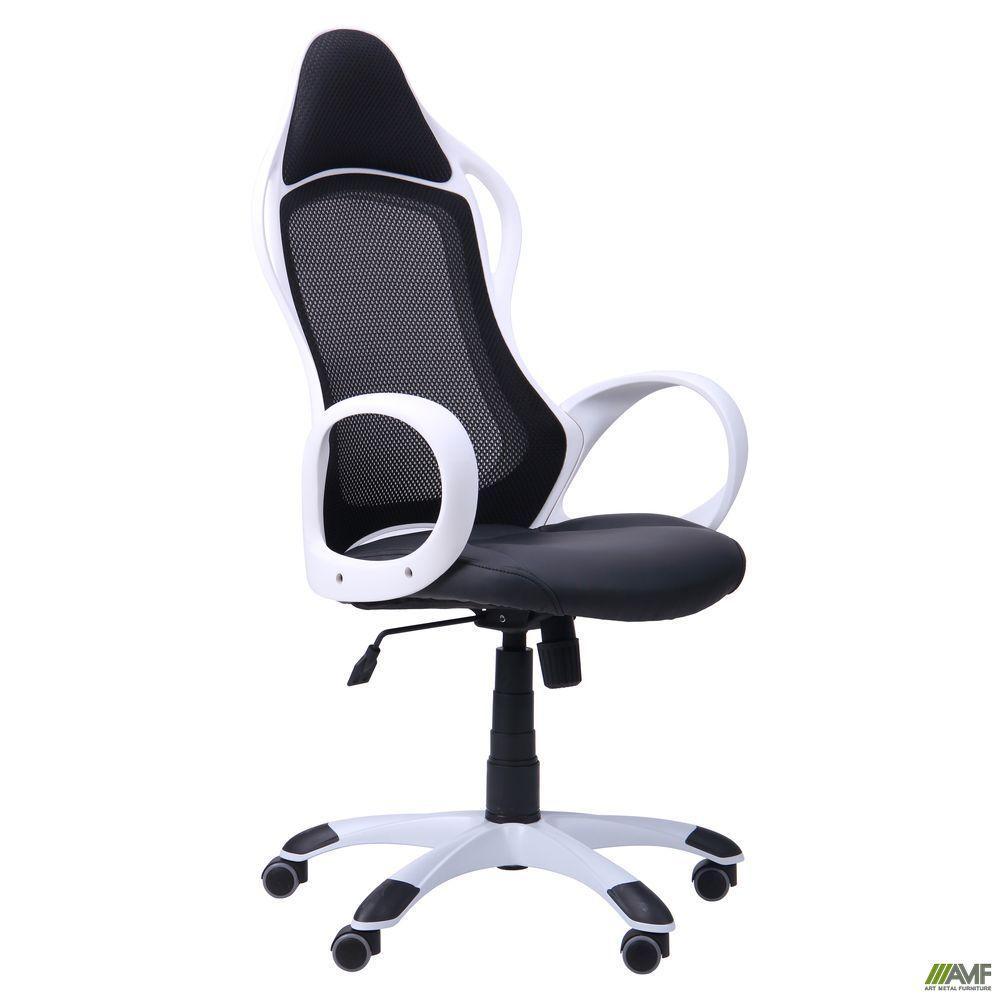 Кресло офисное AMF Nitro чёрно-белое