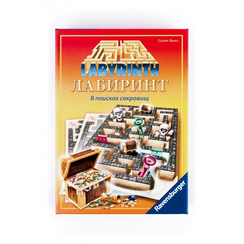 Настільна гра лабіринт у пошуках скарбів Ravensburger (26584)