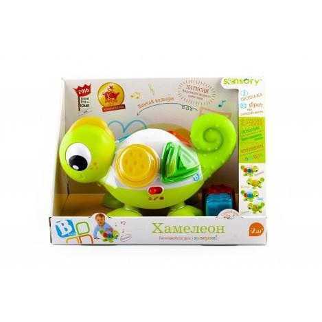 Развивающая игрушка sensory хамелеон (005215S)