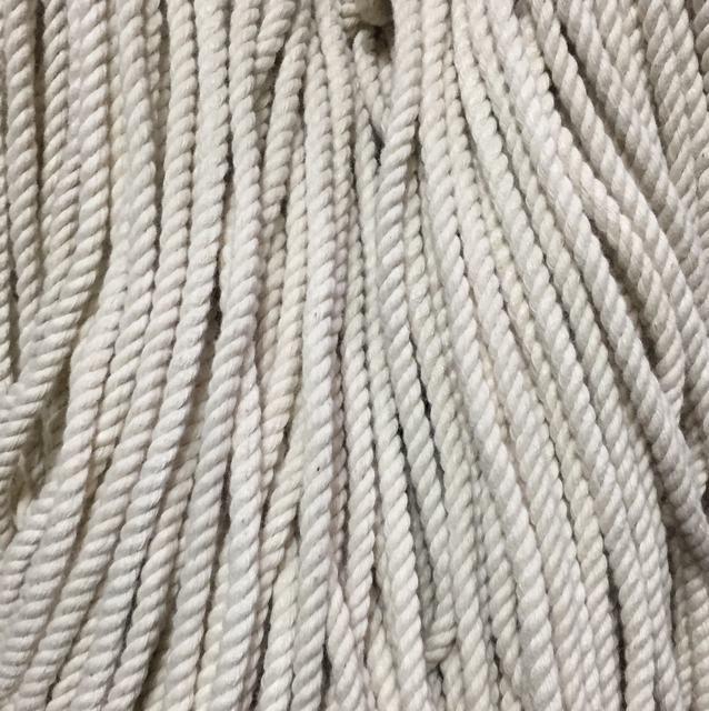 Шнур для одежды без наполнителя х/б 5мм цв суровый (уп 100м) Ф