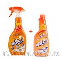 Чистящее средство Мистер Мускул  для кухни 500 мл запаска