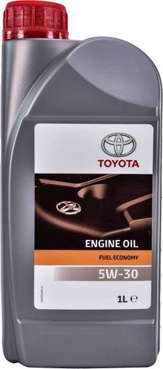Оригинальное моторное масло Toyota Engine Oil 5W30 (1л) (ACEA A1/B1/A5/B5 API SL)