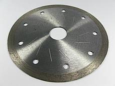 Алмазный диск по керамике 125х1,2 мм Distar 1A1R Decor slim, фото 2