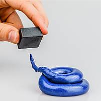 Розумний пластилін прилив Thinking Putty (синій магнітний) (ti16003), фото 3