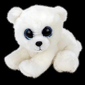 М'яка іграшка ty beanie babies білий ведмідь 15 см (40173)