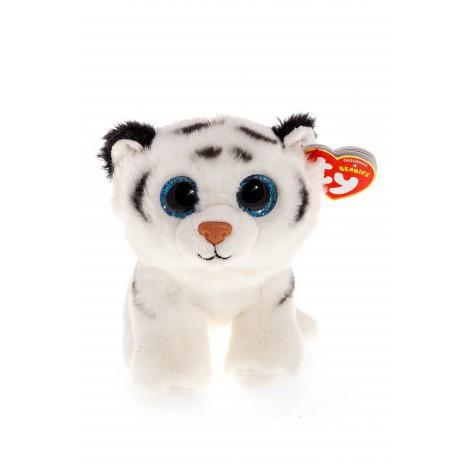 Мягкая игрушка ty beanie boo's белый тигренок tundra 15 см (42106)
