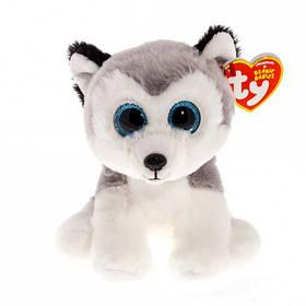 М'яка іграшка ty beanie boo's хаскі buff 15 см (42183)