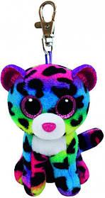 М'яка іграшка ty beanie boo's різнобарвний леопард 12 см (35012)