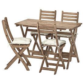 IKEA Комплект мебели садовой ASKHOLMEN (292.861.82)