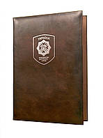 Папка для документів з гербом Міністерство внутрішніх справ України