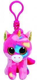 М'яка іграшка ty beanie boo's єдиноріг fantasia 12 см (36619)