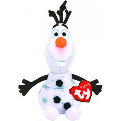 """М'яка іграшка ty frozen """"Олаф"""" 25 см звуковий ефект (Свен) (90192)"""