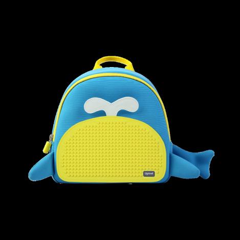 Рюкзак upixel blue whale - блакитно-жовтий (WY-A030O)