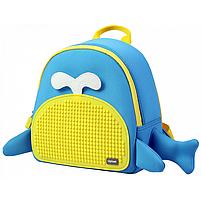 Рюкзак upixel blue whale - блакитно-жовтий (WY-A030O), фото 2