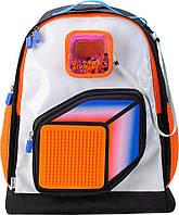 Рюкзак Upixel Model Answer-Оранжево-белый