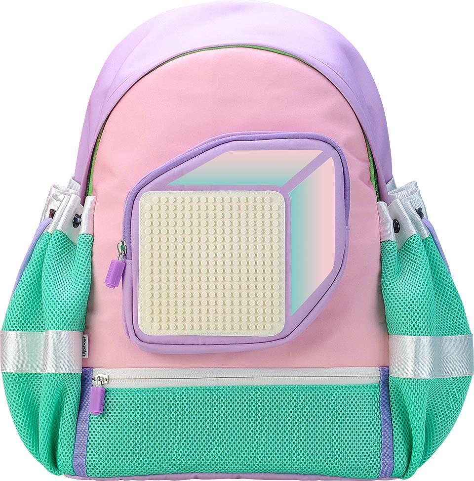 Рюкзак model answer-рожевий Upixel (оранжево-білий) (WY-U18-008U)
