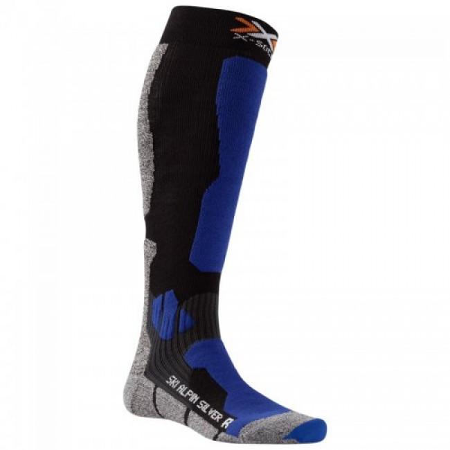 Термоноски X-Socks Ski Alpin Silver| роз. 45-47