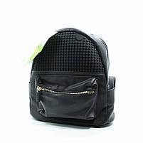 Рюкзак poker face-чорний Upixel (сріблястий) (WY-A020U), фото 5